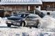 Lautlos aber mit Power testeten die 25 internationalen Journalisten das Tesla-Allrad-System im Tiefschnee-Parcours